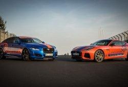 Los Jaguar F-TYPE SVR y XJR575, nuevos Race Taxi del circuito de Nürburgring