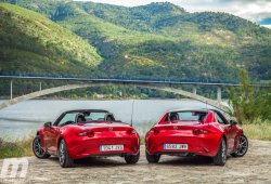 El Mazda MX-5 2019 más potente tendrá 180 CV y llegará a Europa
