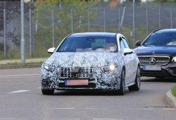 El nuevo Mercedes-AMG A 50 4MATIC progresa en sus pruebas destapándose cada vez más