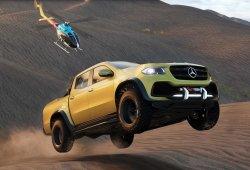 El nuevo Mercedes Clase X estará presente en The Crew 2