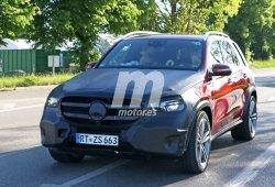 La nueva generación del Mercedes Clase GLE comienza a perder camuflaje