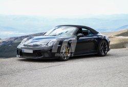 El misterioso Porsche 911 GT3 Cabrio vuelve a ser cazado