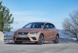 España - Abril 2018: El SEAT Ibiza lidera el mercado