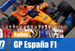 [Vídeo] La radio de los pilotos en el GP de España de F1 2018