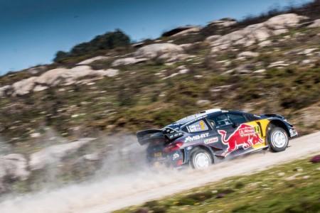 Elfyn Evans no puede frenar a los Hyundai i20 en Portugal