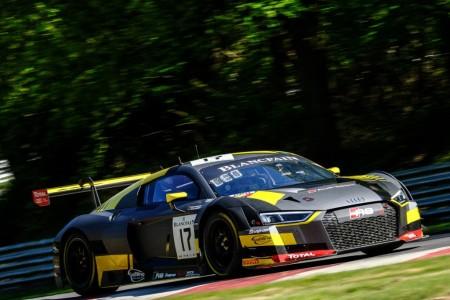 Triplete de Audi en Brands Hatch, Riberas repite podio