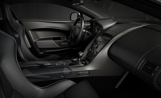 Aston Martin V12 Vantage V600 - interior