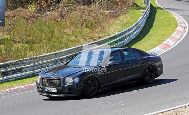 Bentley Flying Spur 2019 - foto espía