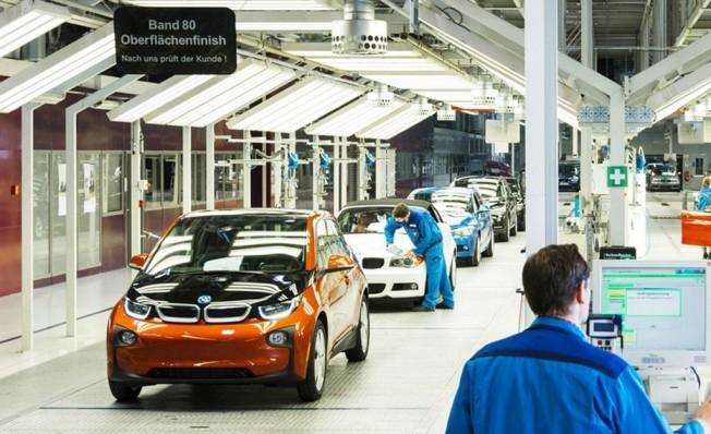 BMW i3 - producción en Leipzig