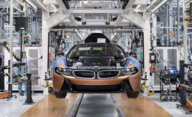 BMW i8 - producción en Leipzig