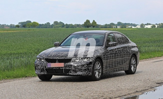 BMW Serie 3 2019 - foto espía