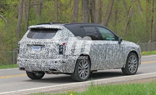 Cadillac XT6 2020 - foto espía posterior