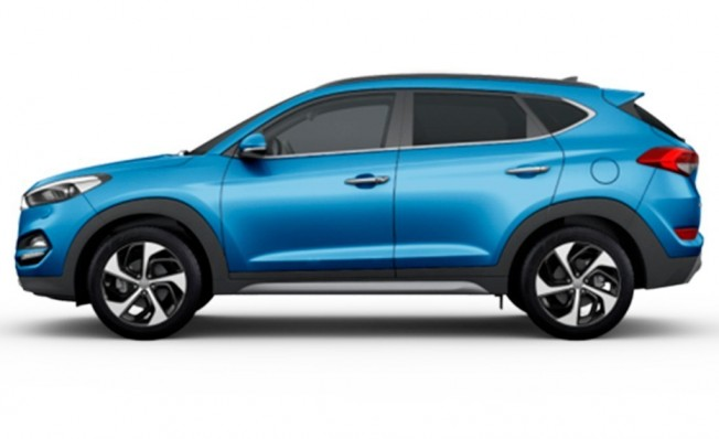 Hyundai Tucson - lateral