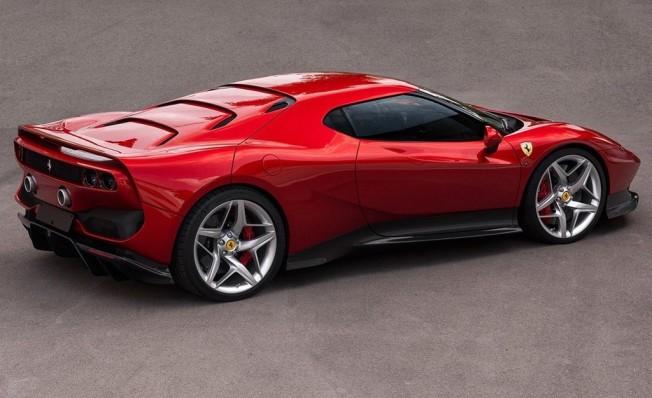 Ferrari SP38 - posterior