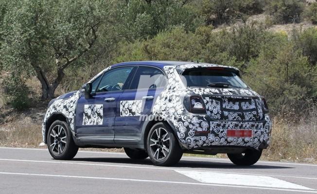 Fiat 500X 2019 - foto espía posterior