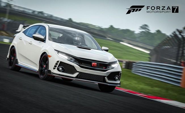 Honda Civic Type R en Forza Motorsport 7