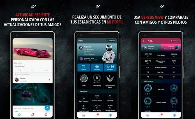 Gran Turismo Sport Companion