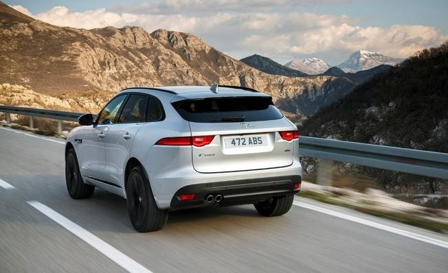 Jaguar F-Pace 2018 - posterior