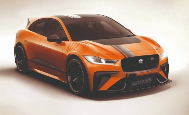 Jaguar I-Pace SVR - recreación