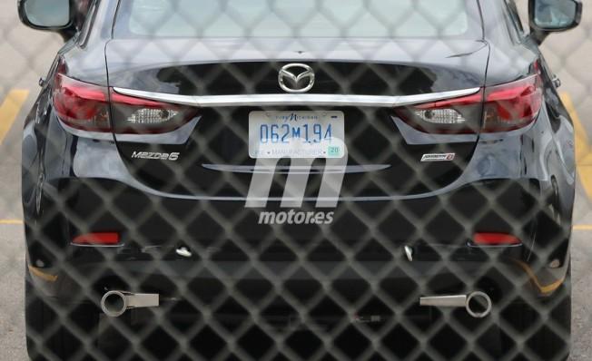 Mazda6 SkyActiv-D en Estados Unidos - foto espía