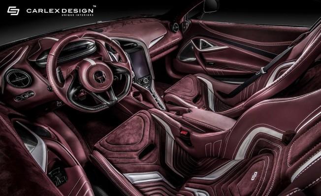 McLaren 720S preparado por Carlex Design