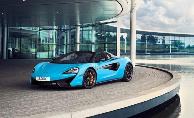 McLaren fabrica el vehículo 15.000 en Woking