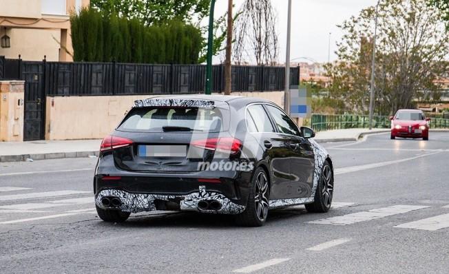 Mercedes-AMG A 50 2019 - foto espía posterior