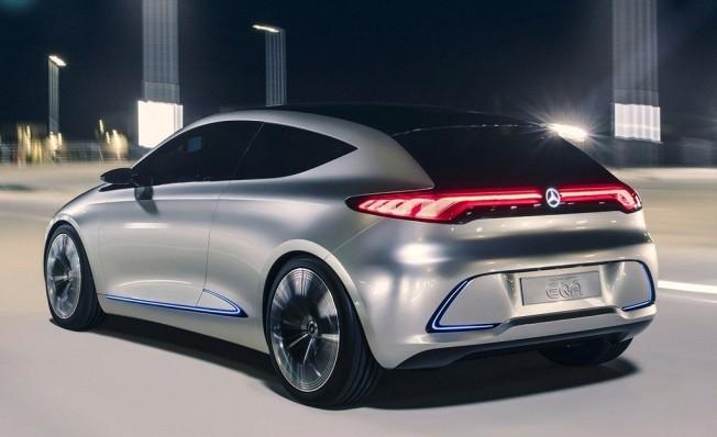 Mercedes EQA Concept - posterior