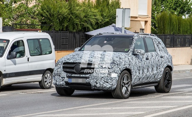 Mercedes GLE 53 AMG 4MATIC - fotos espía