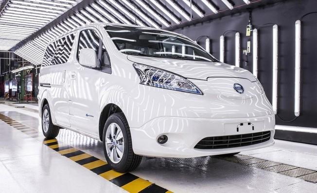 Nissan e-NV200 40 kWh - producción en Barcelona