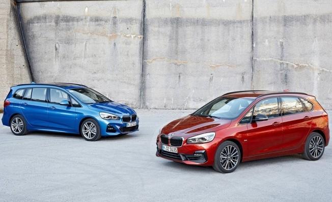 BMW Serie 2 Active Tourer y BMW Serie 2 Gran Tourer 2018