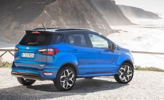 Ford EcoSport 2018 - posterior