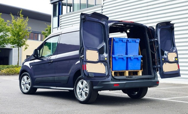 Ford Transit Connect - posterior