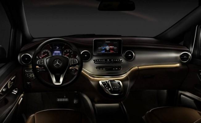 Mercedes Clase V Night Edition - interior