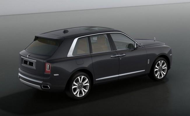 Rolls-Royce Cullinan - posterior