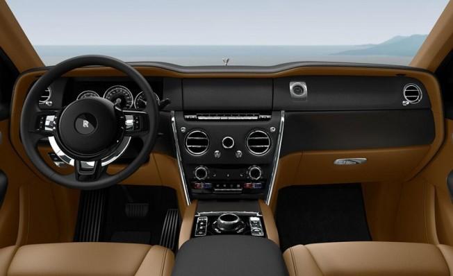 Rolls-Royce Cullinan - interior