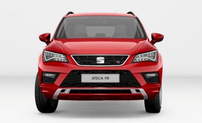 SEAT Ateca FR Plus - frontal