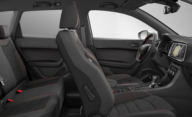SEAT Ateca FR Plus - interior