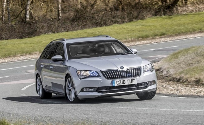 Skoda Superb Combi blindado