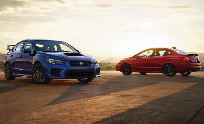 Subaru WRX y WRX STI 2019