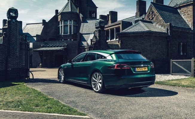 Tesla Model S Shooting Brake por RemetzCar