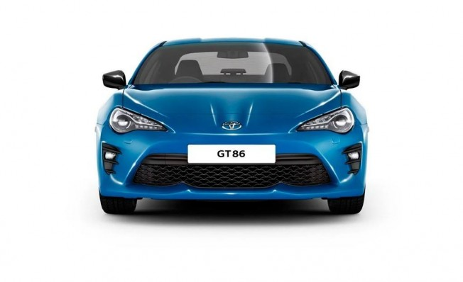 Toyota GT86 Club Series Blue Edition - frontal