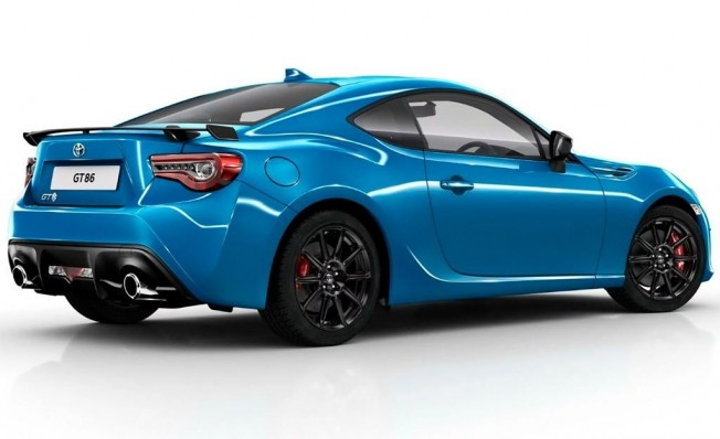 Toyota GT86 Club Series Blue Edition - posterior