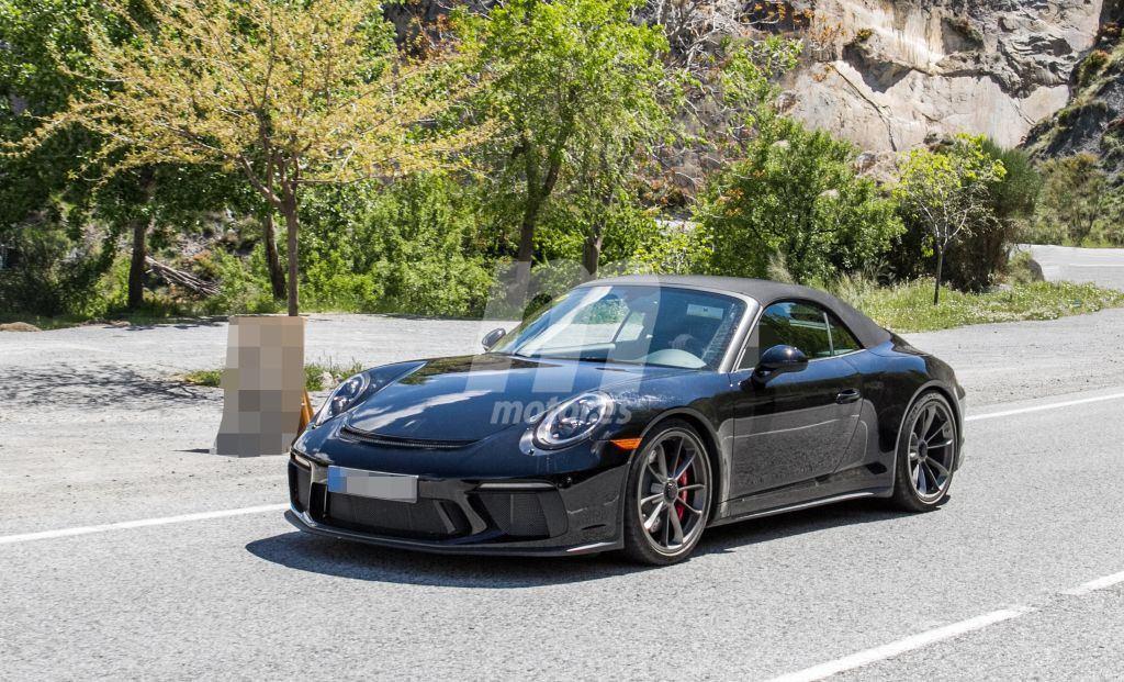 ¿Está Porsche desarrollando el primer 911 GT3 Cabriolet?