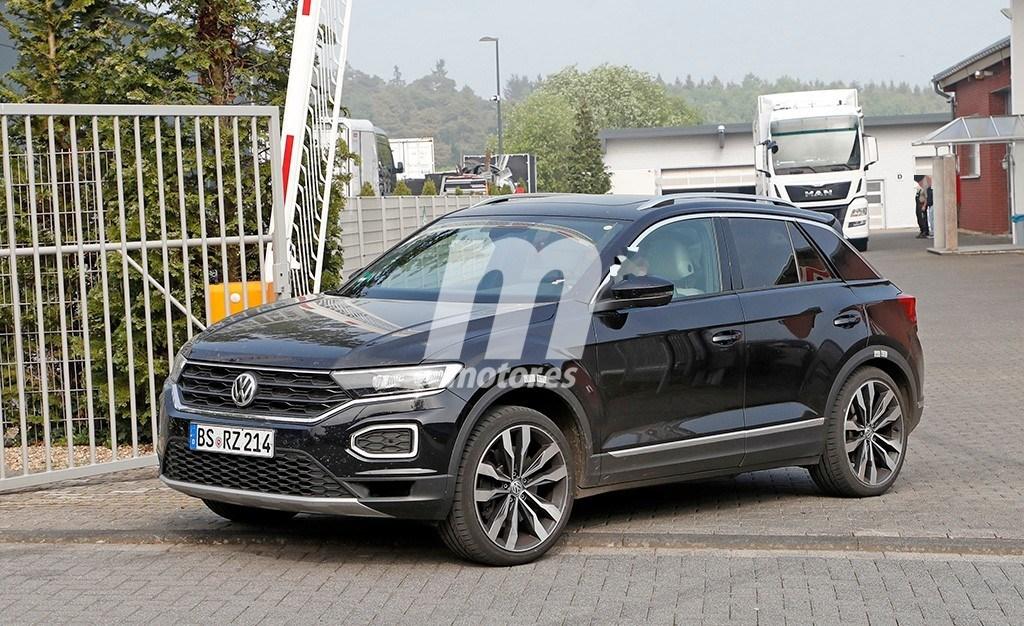 Volkswagen continúa trabajando en el T-Roc R, la versión más radical y extrema