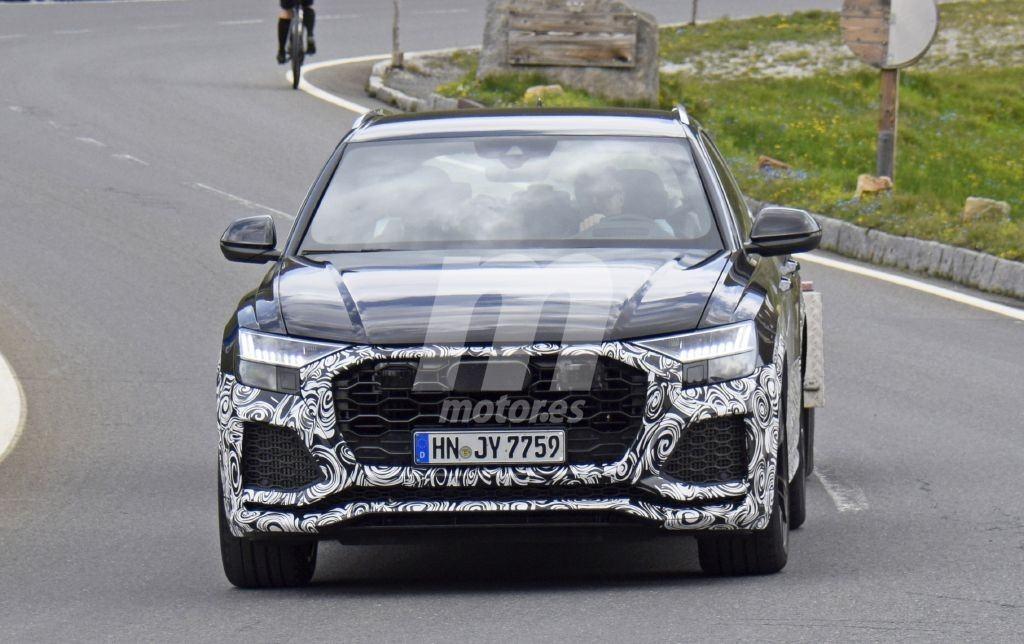 Cazado el nuevo Audi RS Q8 durante una jornada de pruebas en los Alpes