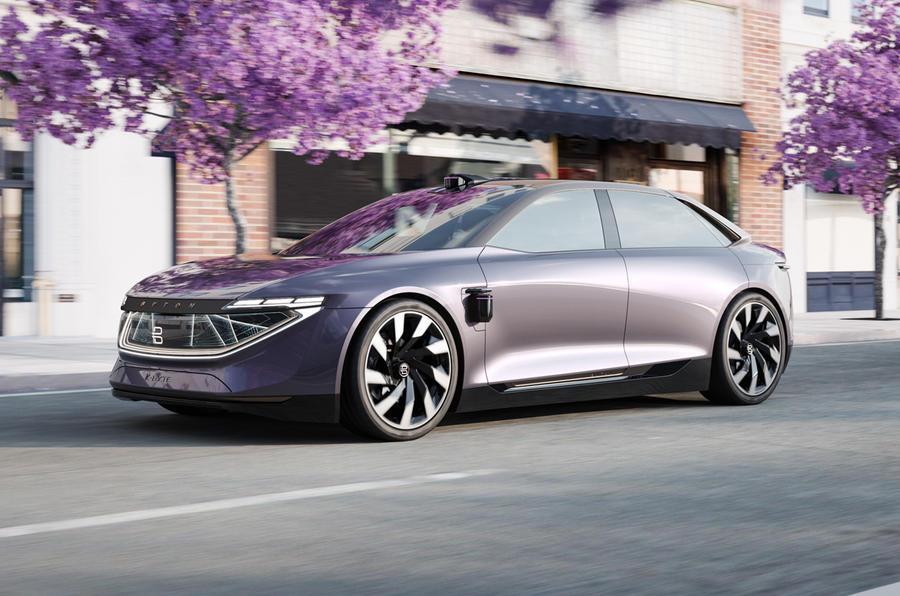 Byton presenta el K-Byte concept, su nuevo sedán eléctrico