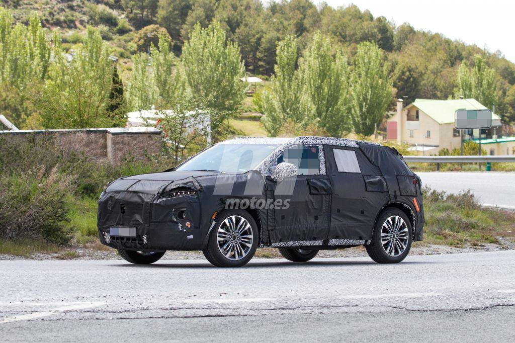 El nuevo Chevrolet Blazer 2019 cazado durante unos tests en Europa
