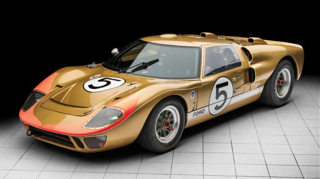 Uno de los Ford GT40 del histórico triplete de Le Mans 1966 a subasta