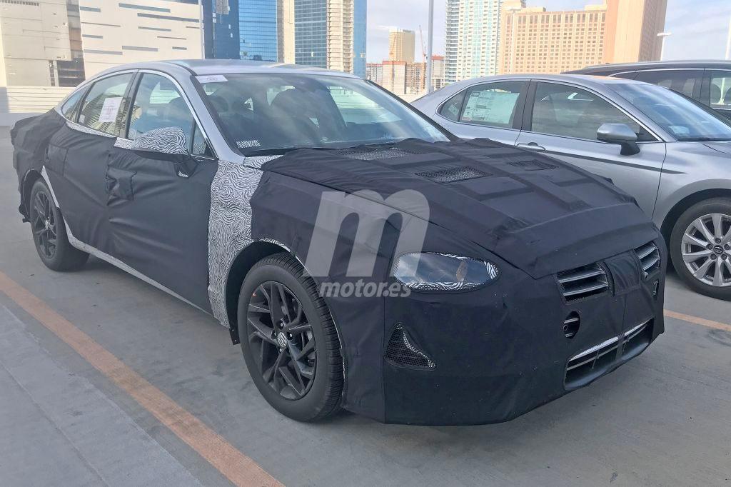 Hyundai Sonata 2020: nuevas fotos espía de la octava generación